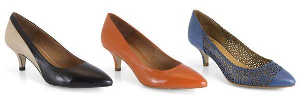 Horma 095A de la marca Mikaela. Zapato cómodo de tacón bajo kitten heel