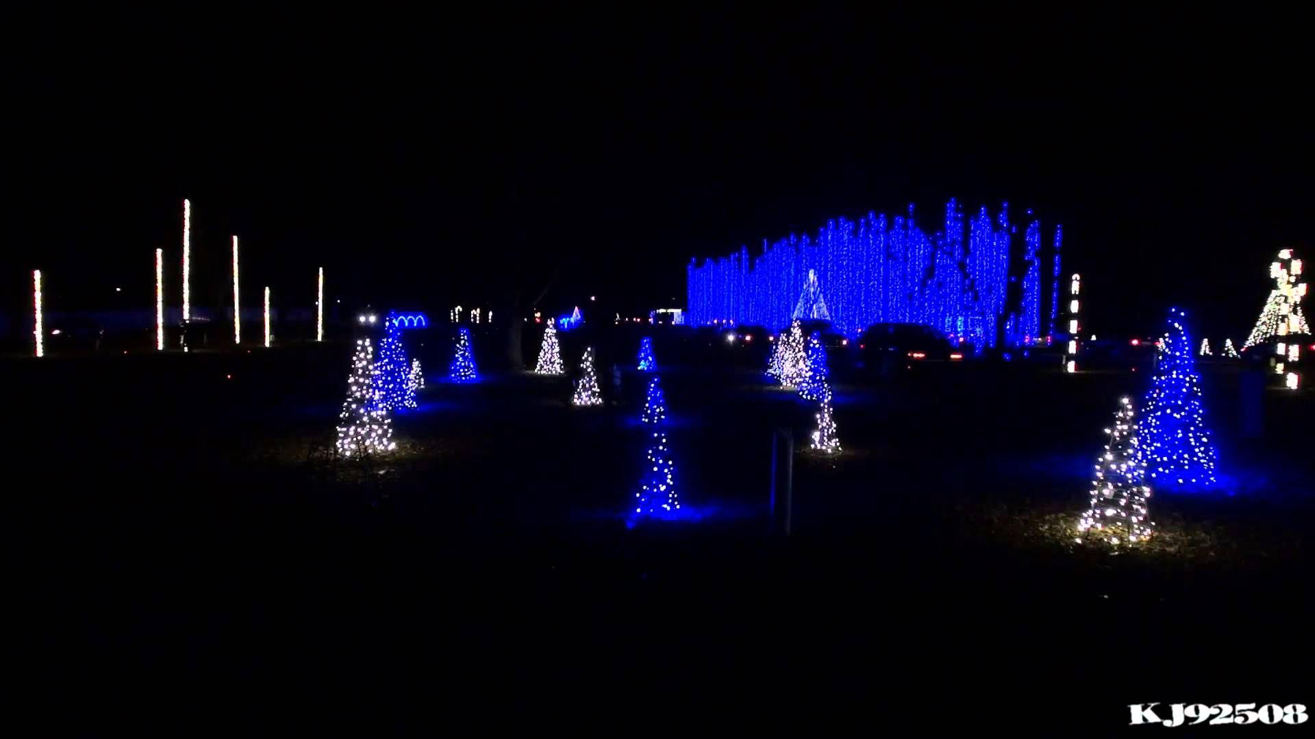 Christmas Light Show 2013 - Wish Liszt TSO (Nashville, TN ...