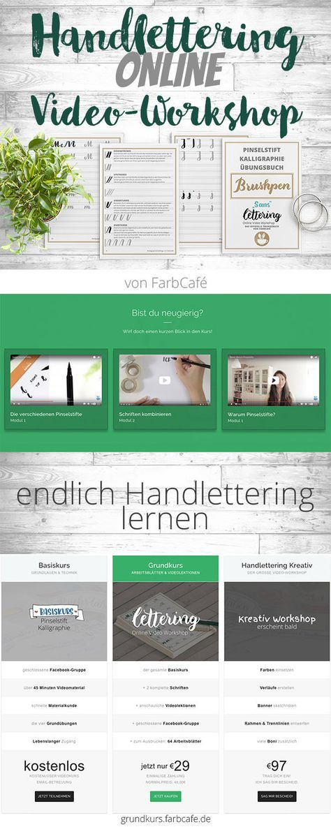 handlettering online video workshop calligraphy. Black Bedroom Furniture Sets. Home Design Ideas