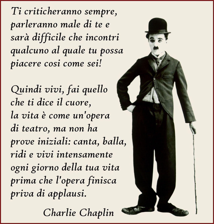 Risultati Immagini Per Aforismi Charlie Chaplin Citazioni