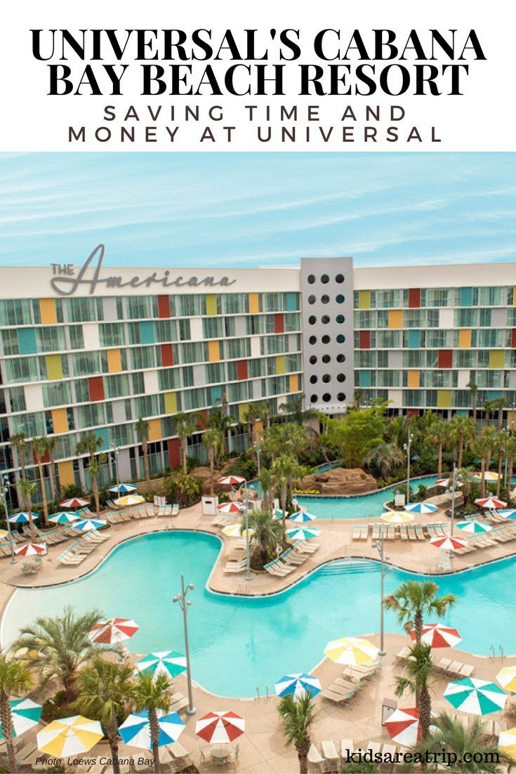 Universal S Cabana Bay Beach Resort Offers Families Convenience And Retro Fun Close To Studios Will Also Enjoy The Lazy River Water