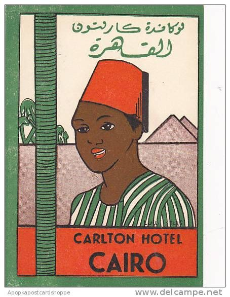 Cairo - vintage poster