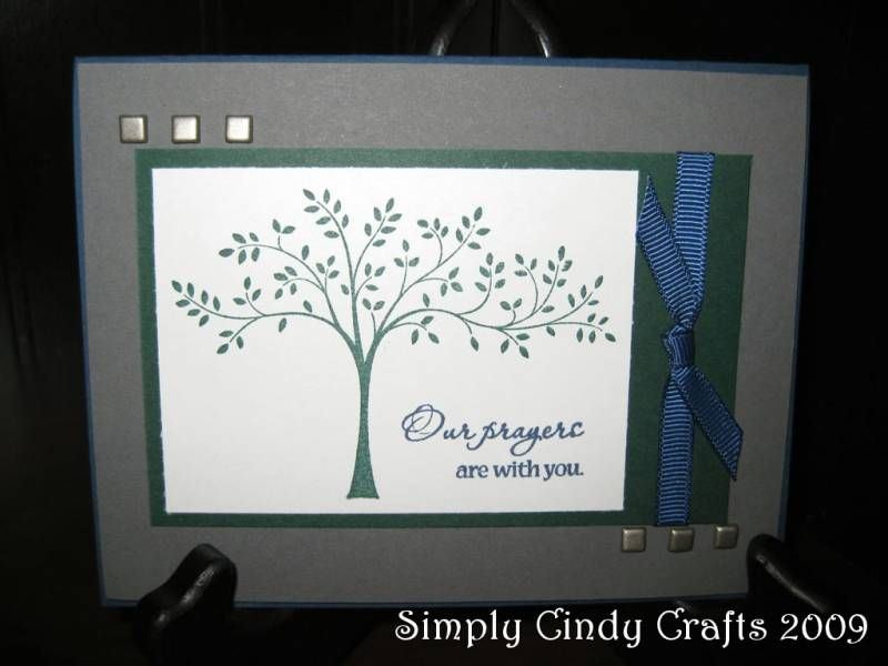 Sympathy Cards by cblekas - Cards and Paper Crafts at Splitcoaststampers