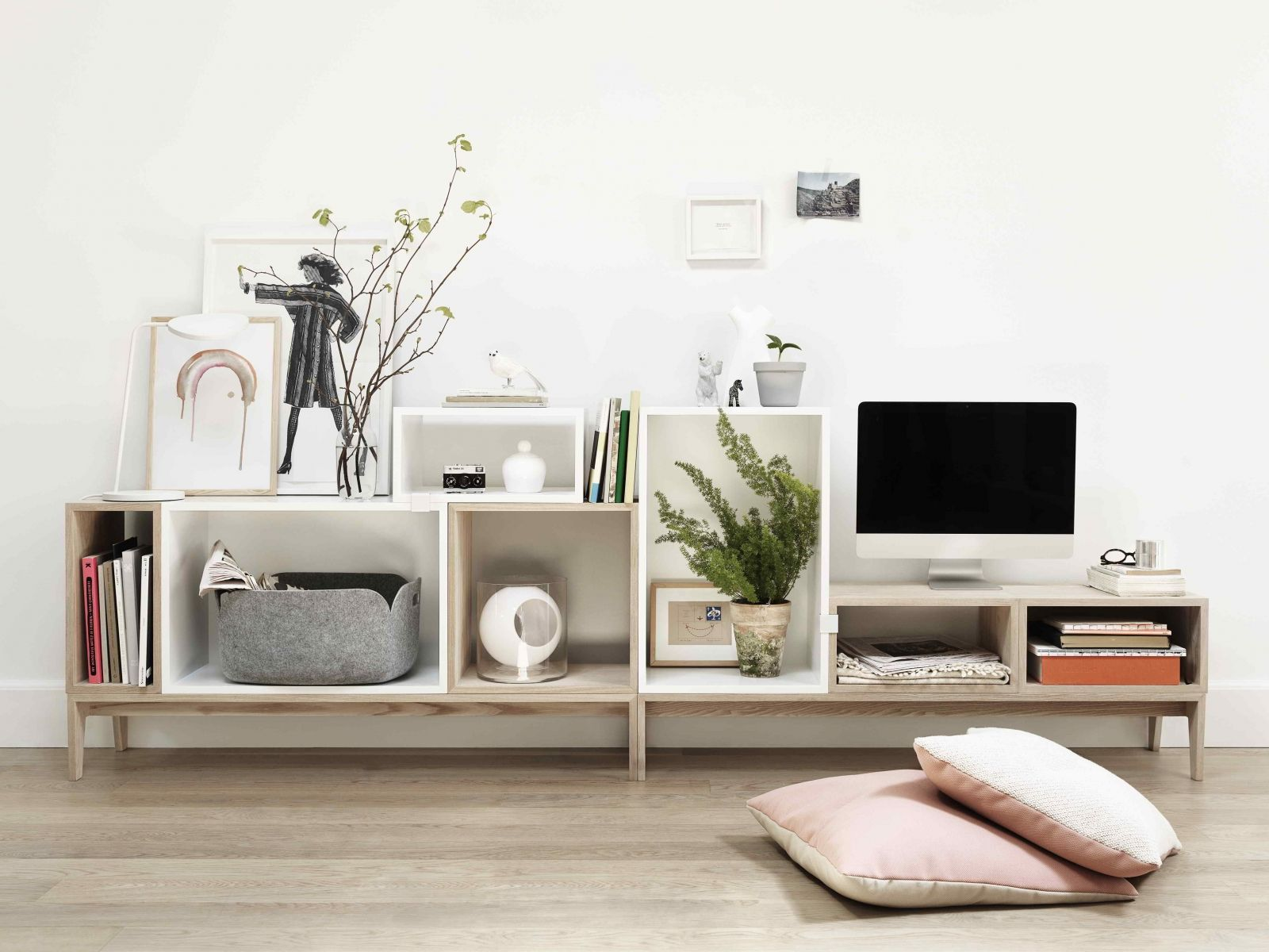scandinavisch tv meubel van muuto stacked scandinavisch design