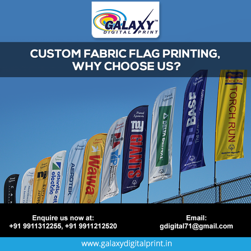 Why Choose Us For Custom Printing Of Flags We Are The Major Contributors In Terms Of Printing Flags For Ipl Teams Like D Galaxy Print Prints Digital Prints
