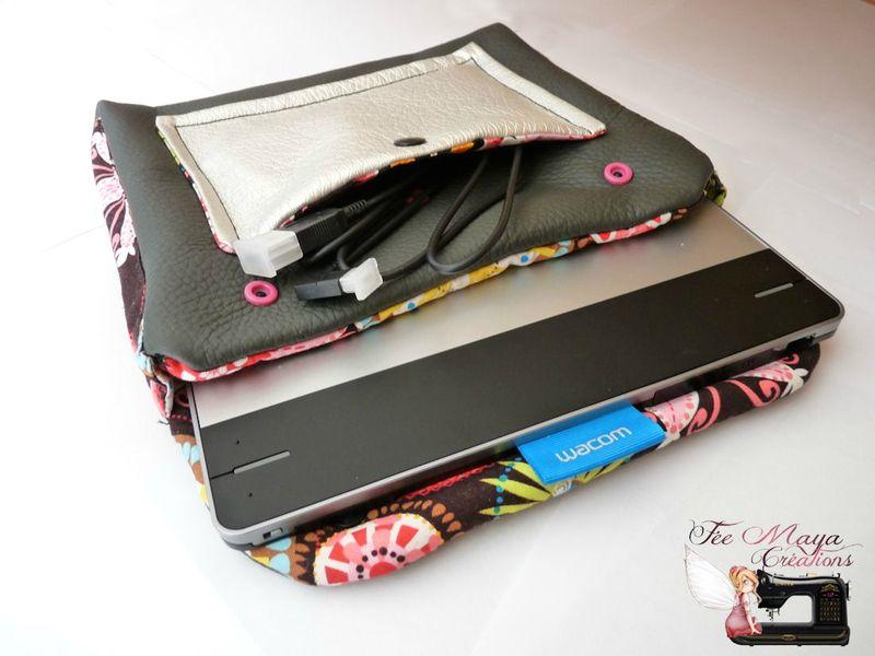 Pochette Pour Tablette Graphique Fee Maya Creations Le Blog