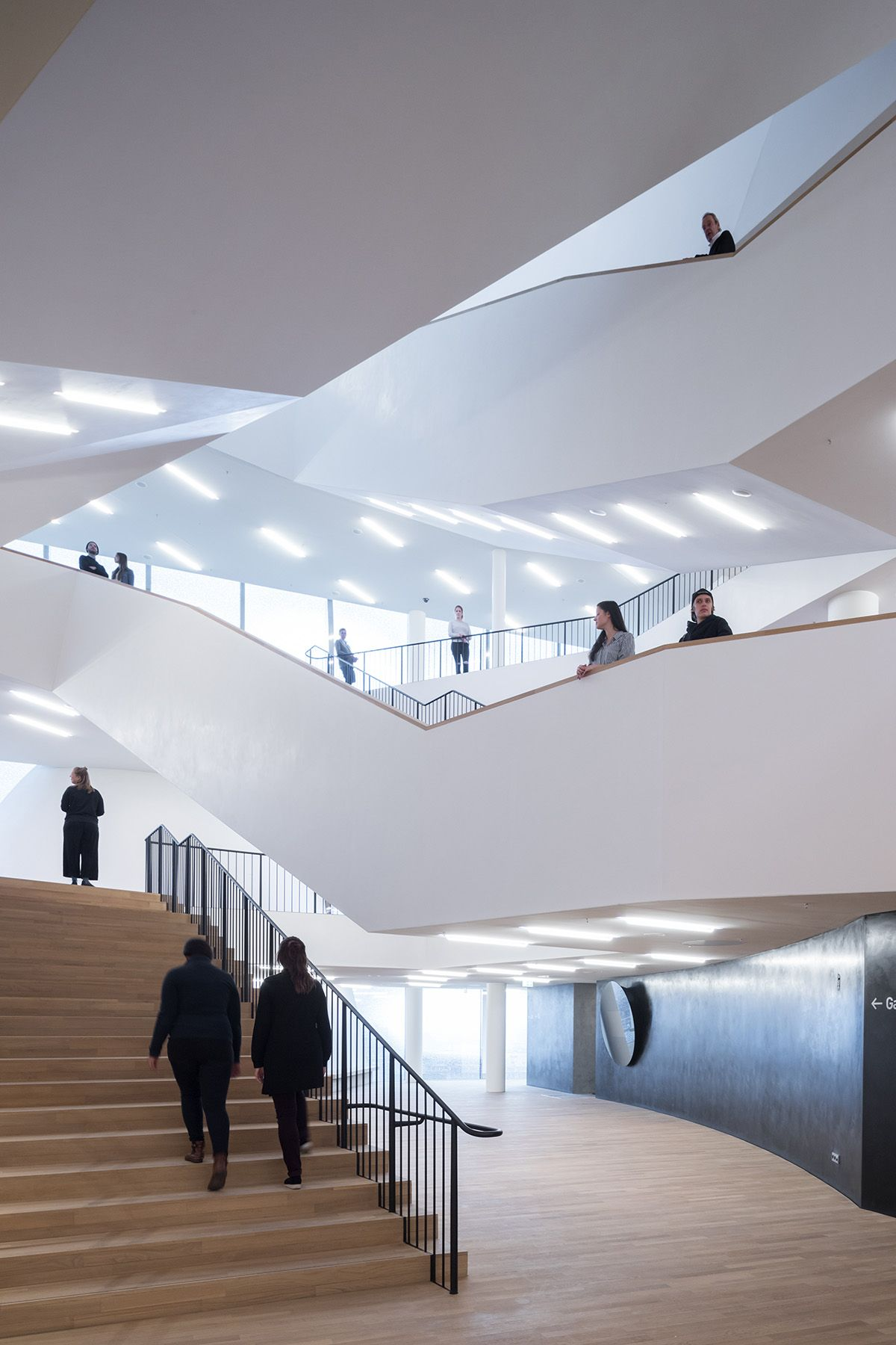 The Plaza Of The Elbphilharmonie By Herzog De Meuron Officially Opened To Public In Hamburg Concert Hall Architecture Elbphilharmonie Hamburg Architecture Details