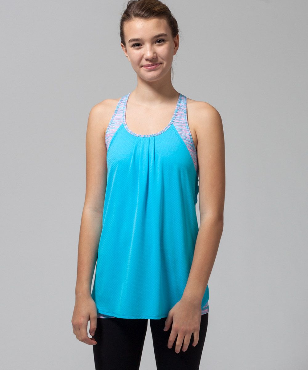 7cc097956a30f Look at this ivivva Spry Blue Endless Ambition Tank on  zulily today ...