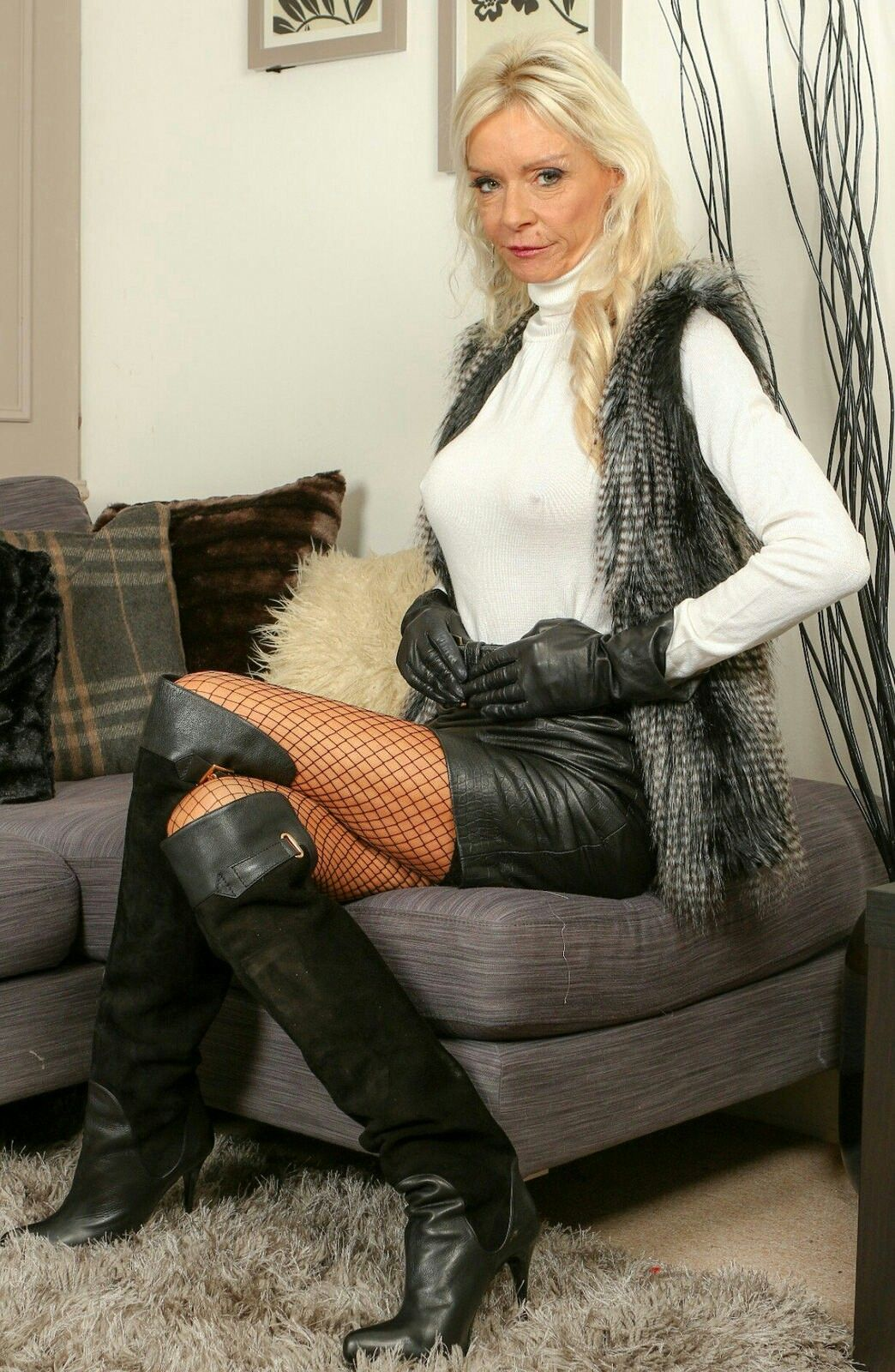 from Jay mature females leather nude