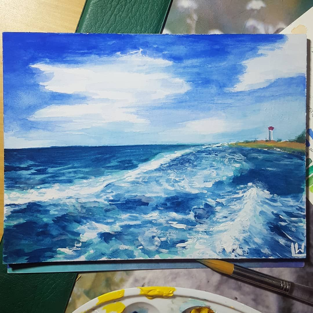 Its Been A While Since Ive Posted A Traditional Painting Painting