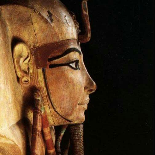 Wooden coffin of Ramesses ll.