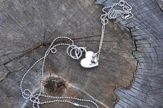 ring holder necklace jewelry organizer jewelry holder necklace holder jewelry display wedding ring holder heart ring - Wedding Ring Holder Necklace