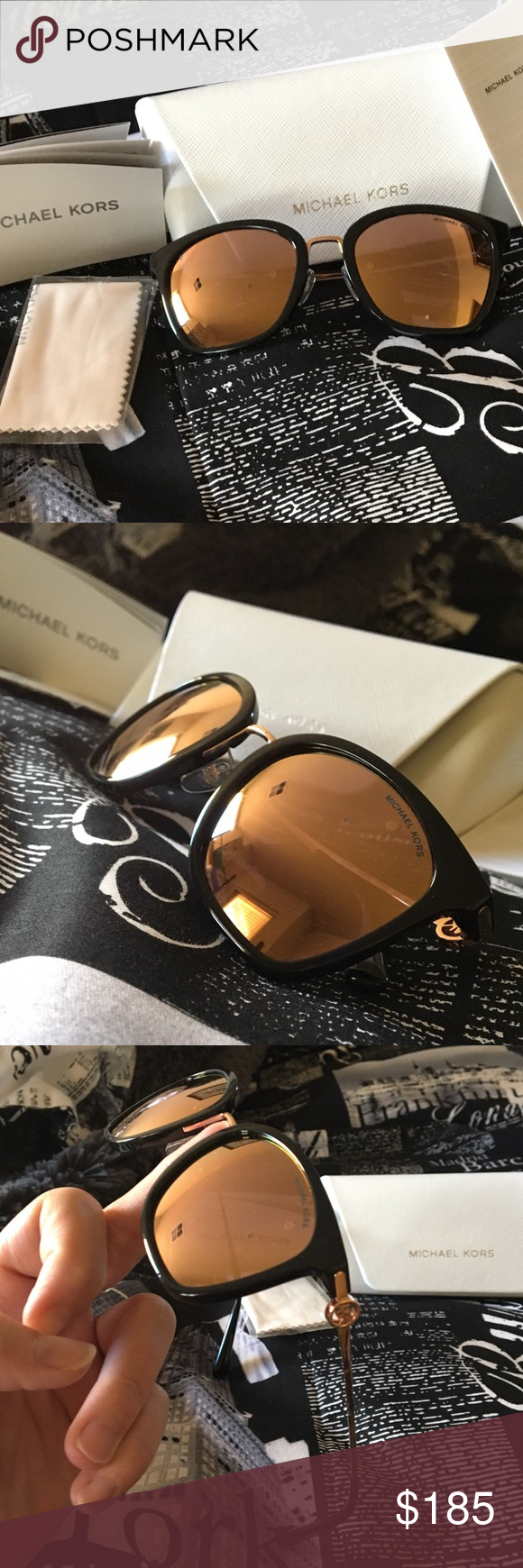 5208f81f1f Michael Kors Lugano Square Sunglasses 😎 On trend! New to the collection