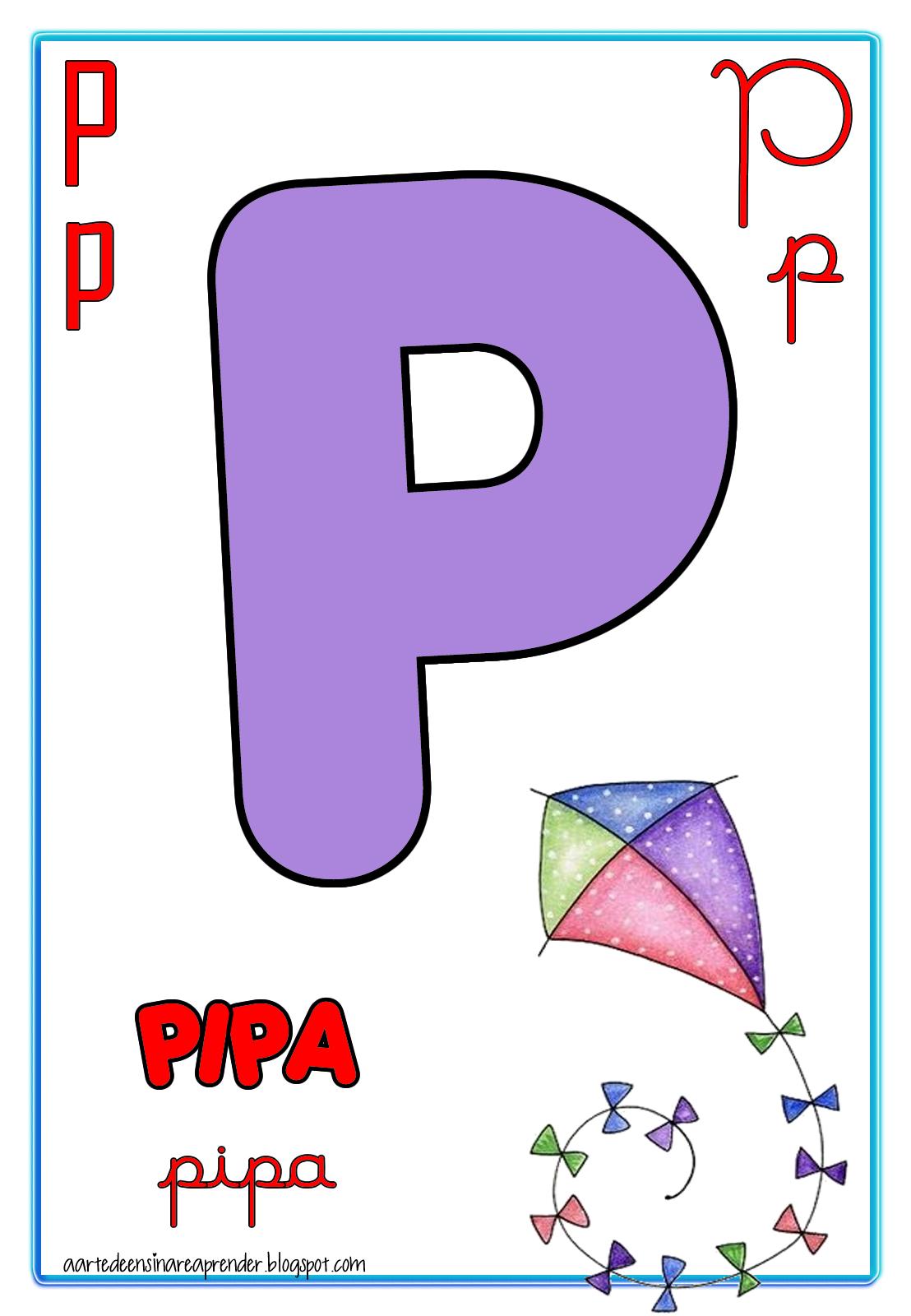 Alfabeto quatro tipos de letras | Alfabeto, Alfabeto para imprimir y ...