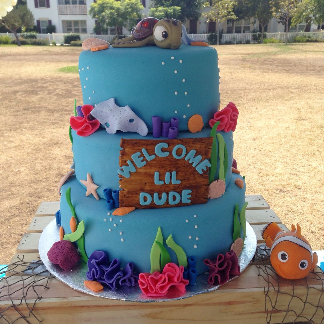 Finding Nemo Baby Shower Cake Cake Made By Jackie Of Pastel By