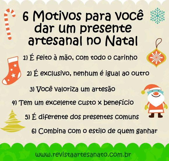 El Armario Que Plancha ~ Campanha de Natal 6 motivos para voc u00ea dar um presente artesanal Incriveis, Mensagem e