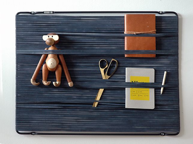 Multi-Flex | wall organiser | black  #puhlmann #capventure #dutchdesign #product #RemcovanderLeij #organiser #multiflex