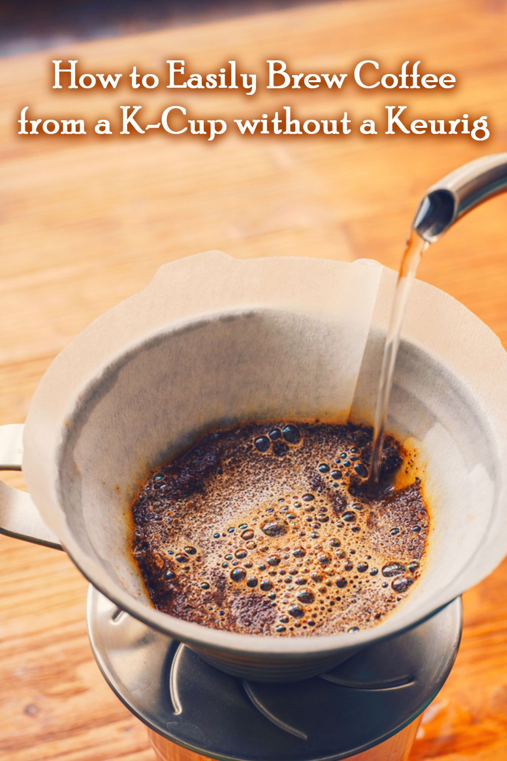 How to easily brew coffee from a kcup without a keurig