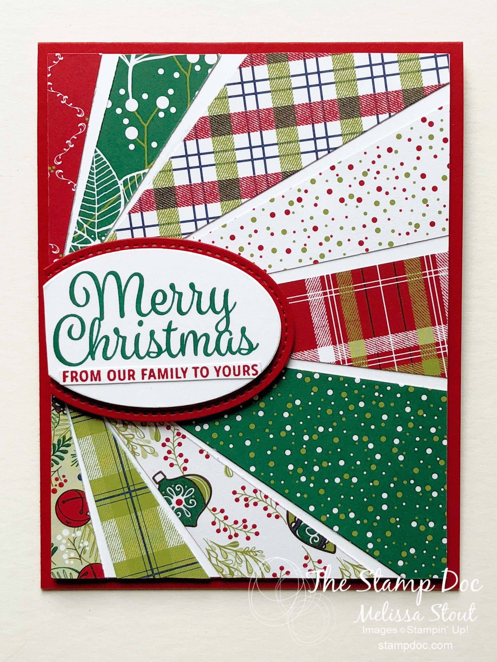 Monday Montage 121 Featuring Christmas in July Starburst card ...