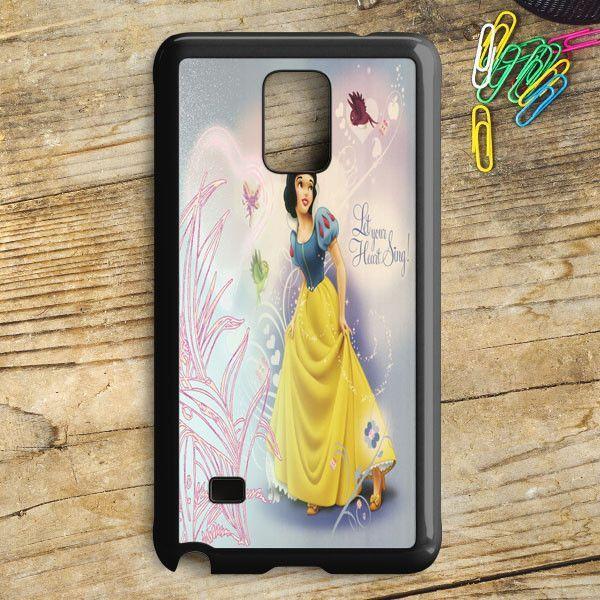 Snow White Apple Logo Samsung Galaxy Note 5 Case | armeyla.com