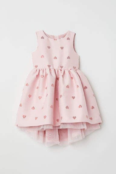 3db7d3e6c1a H M Jacquard-weave dress - Pink