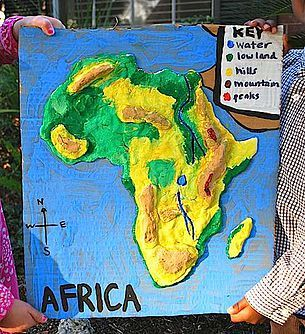 Geography Ideas For Kids Geography Project Ideas Geography - Geography map for kids