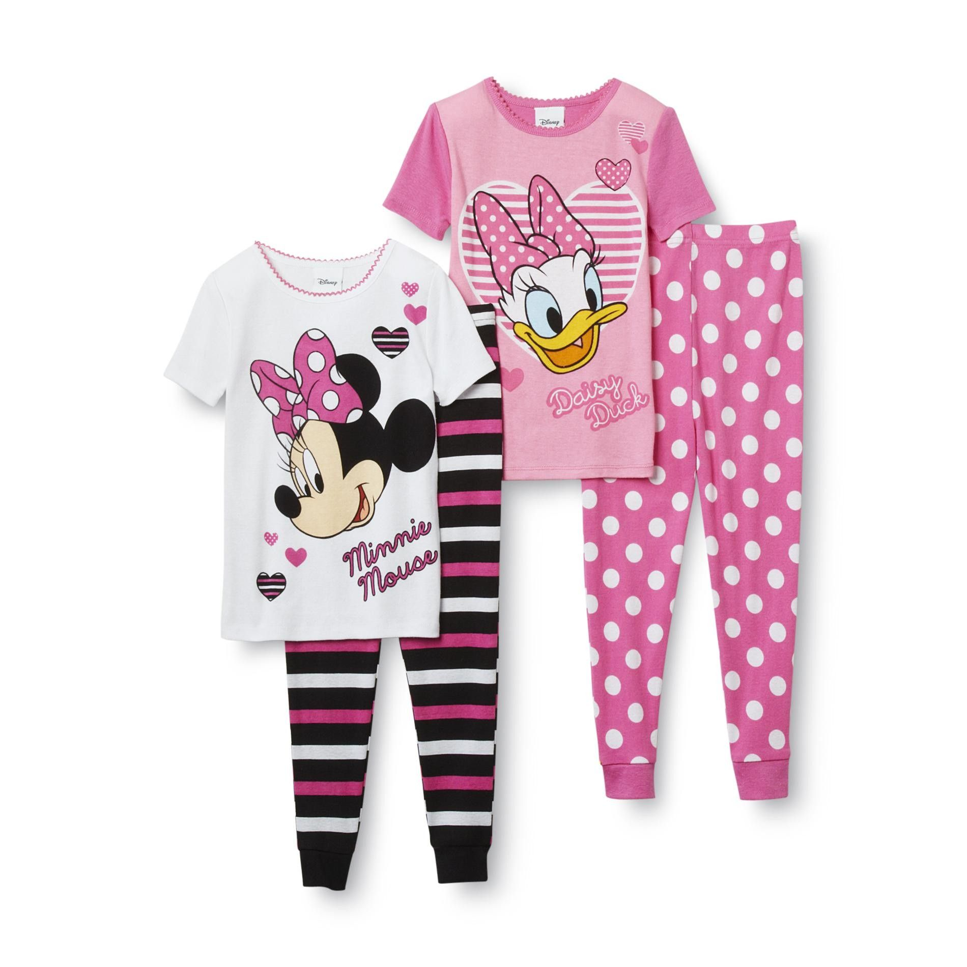 1d7c6e471 Disney Baby- -Minnie Mouse   Daisy Duck Toddler Girl s 2-Pair ...