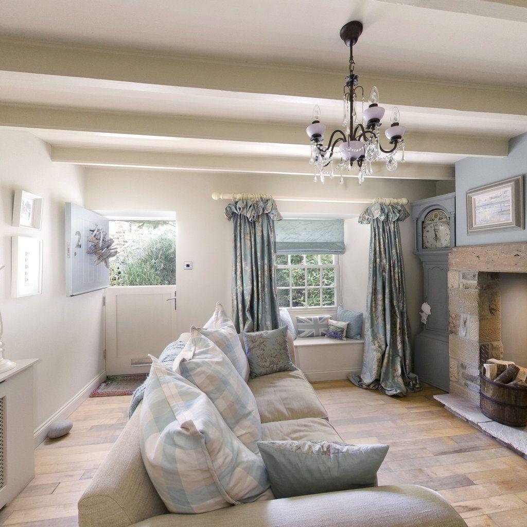 Living Room Lavender Cottage Whitby Cottage living