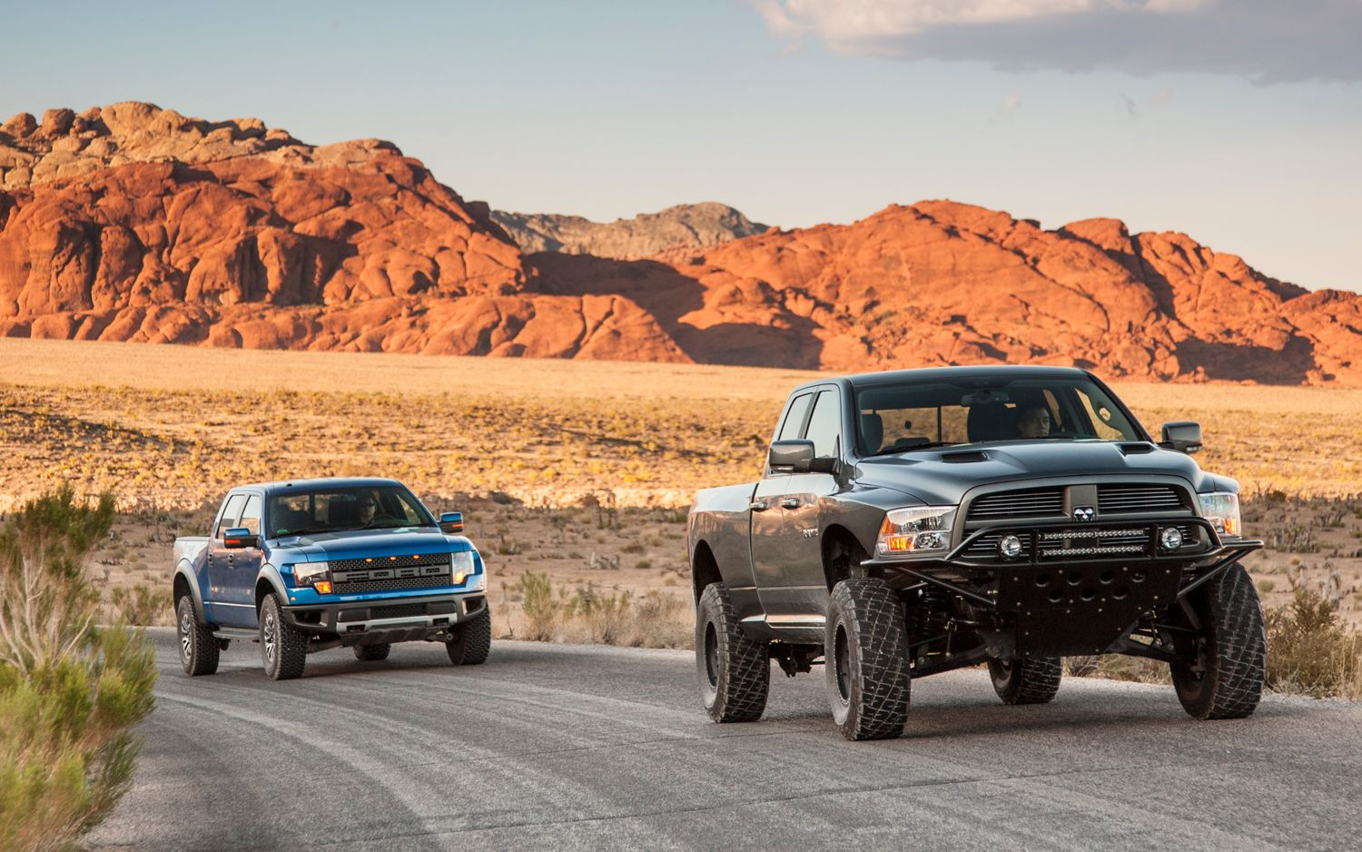These trucks can play in the rough but only one serves daily duty too read all about the 2012 ford raptor vs 2012 ram runner comparison from the truck