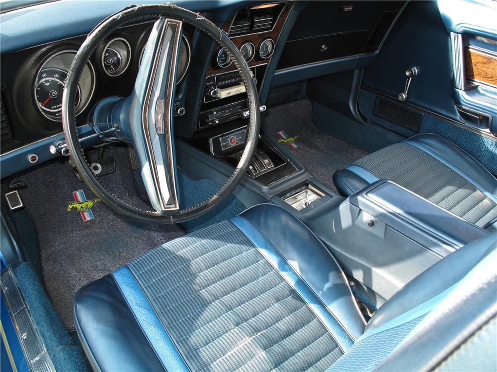 1973 Ford Mustang Mach 1 2 Door Fastback Interior 102128 Ford Mustang Mustang Mach 1 Mustang Interior