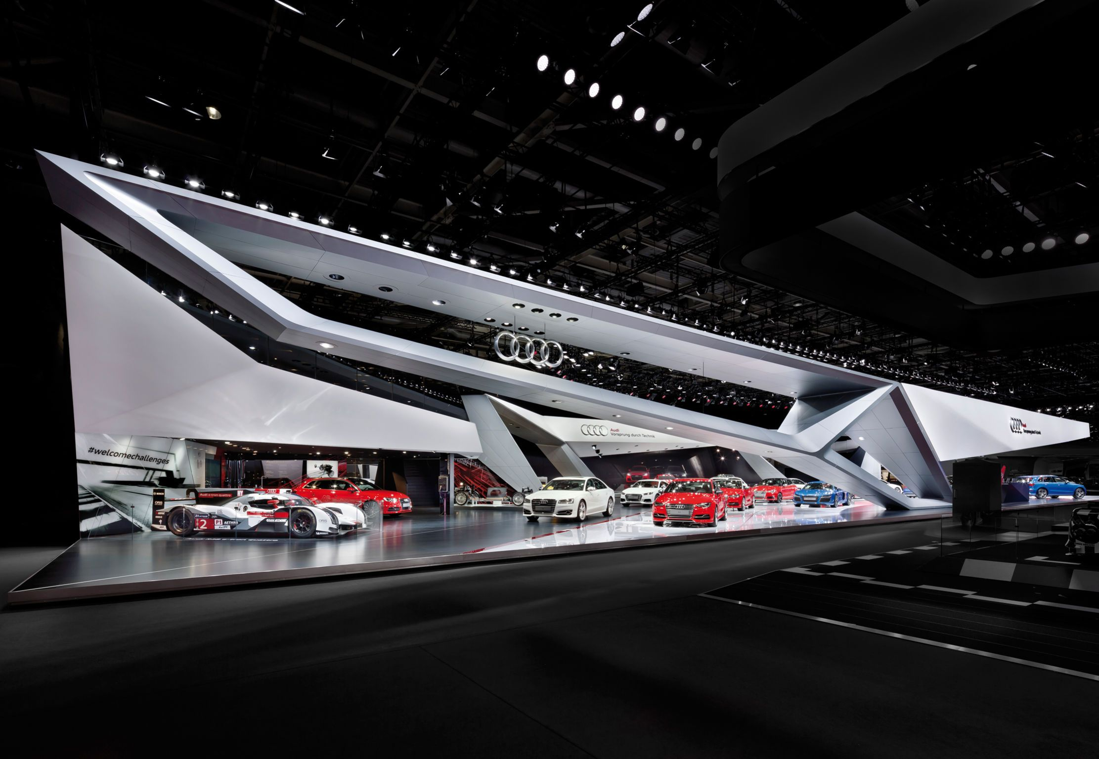 Audi Paris Motor Show 14 Trade Fair Stand