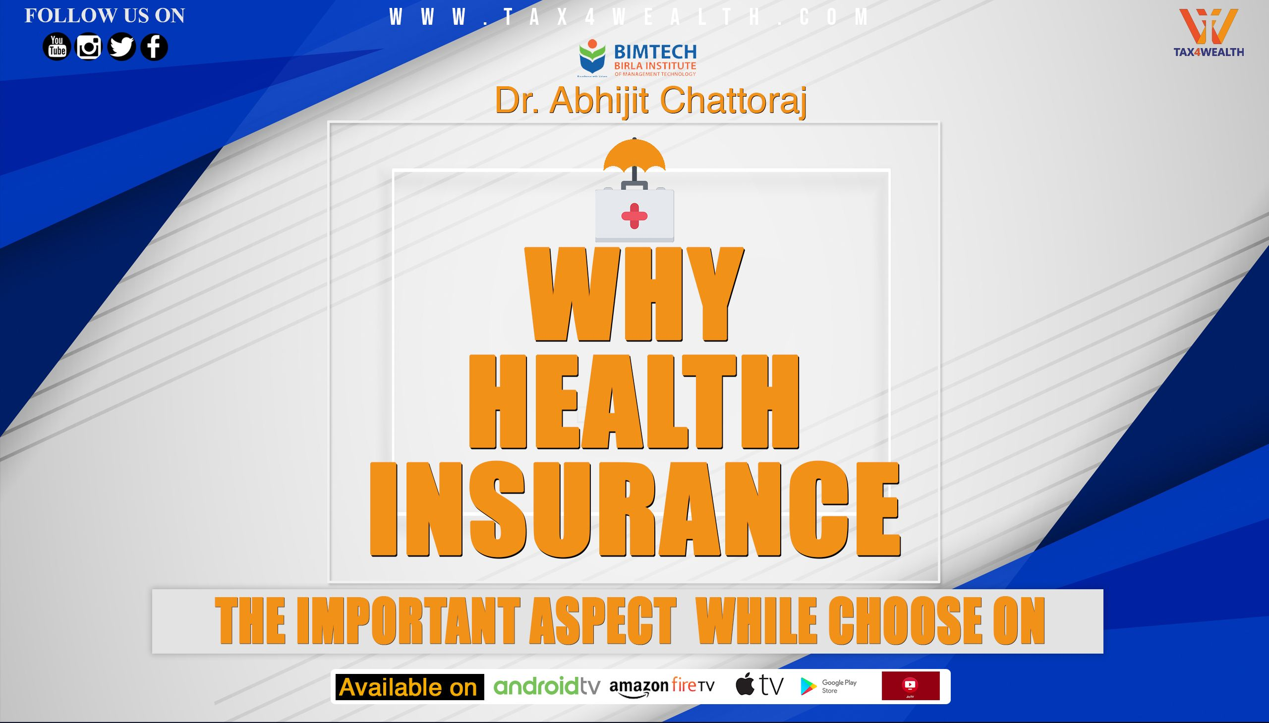 Watch Our Next Video Health Insurance Why Health Insurance In