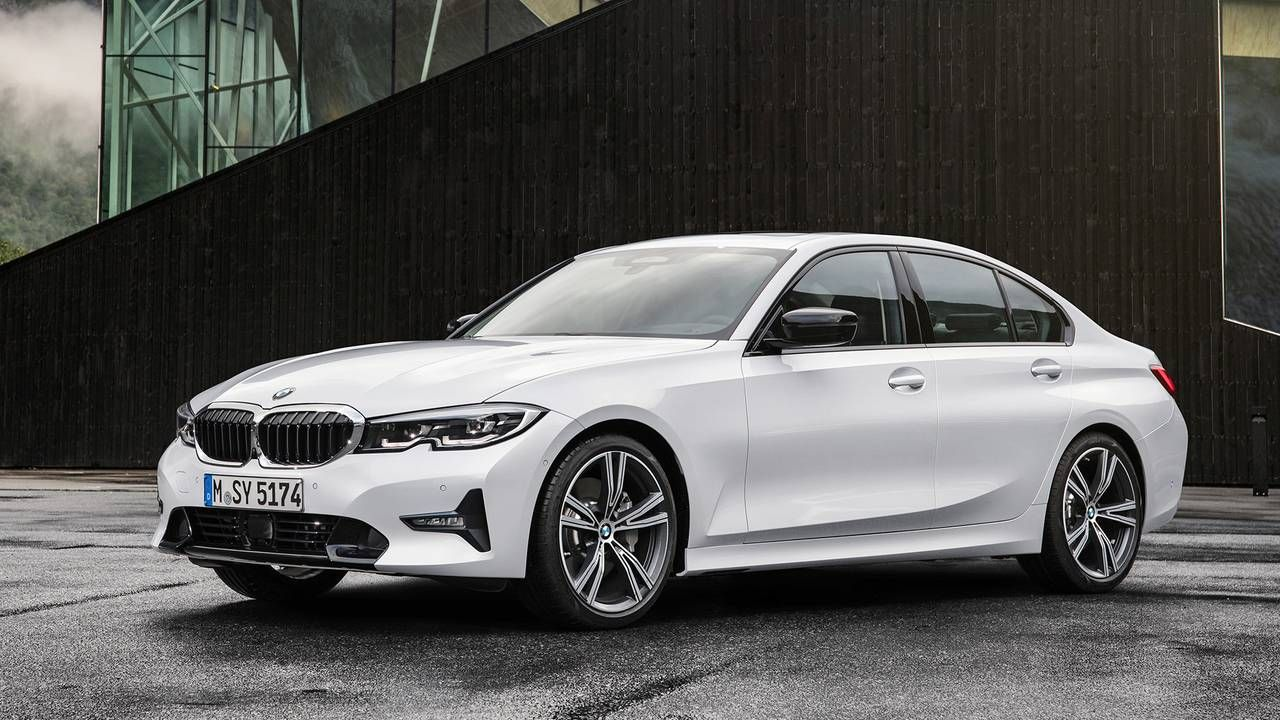 2019 Bmw 3 Series Debuts In Paris With Bigger Body And Bolder Look Bmw 3 Series Bmw Suv Bmw