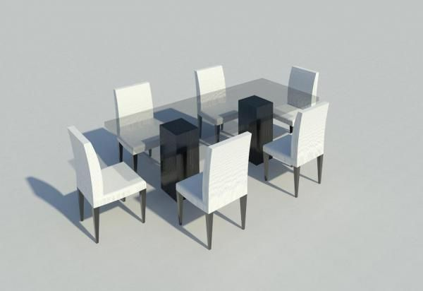 Fantastic Dinning Room Table And Chairs Revit Table Dinning Room Download Free Architecture Designs Remcamadebymaigaardcom