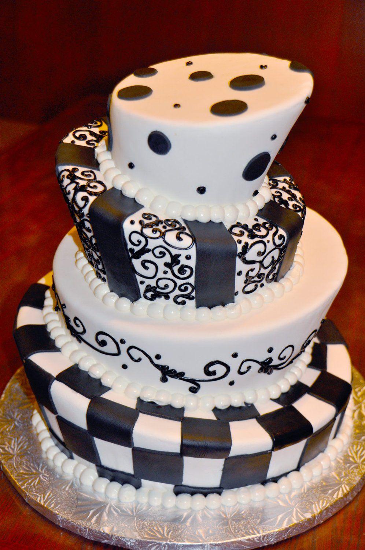 BintikBintik cake putih Dan hitam Cake, Cake san diego