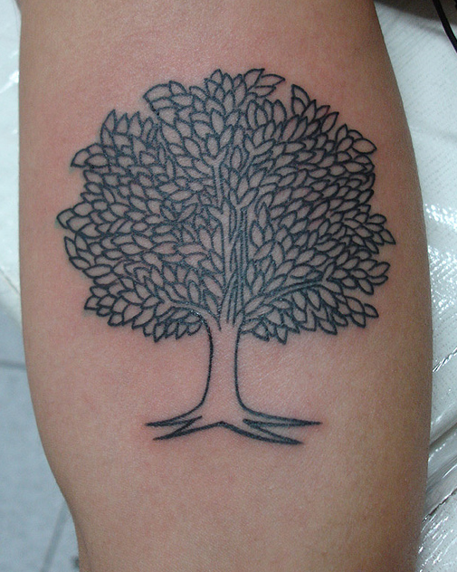 simple tree tattoo | i like a lot of things.. | Pinterest ...