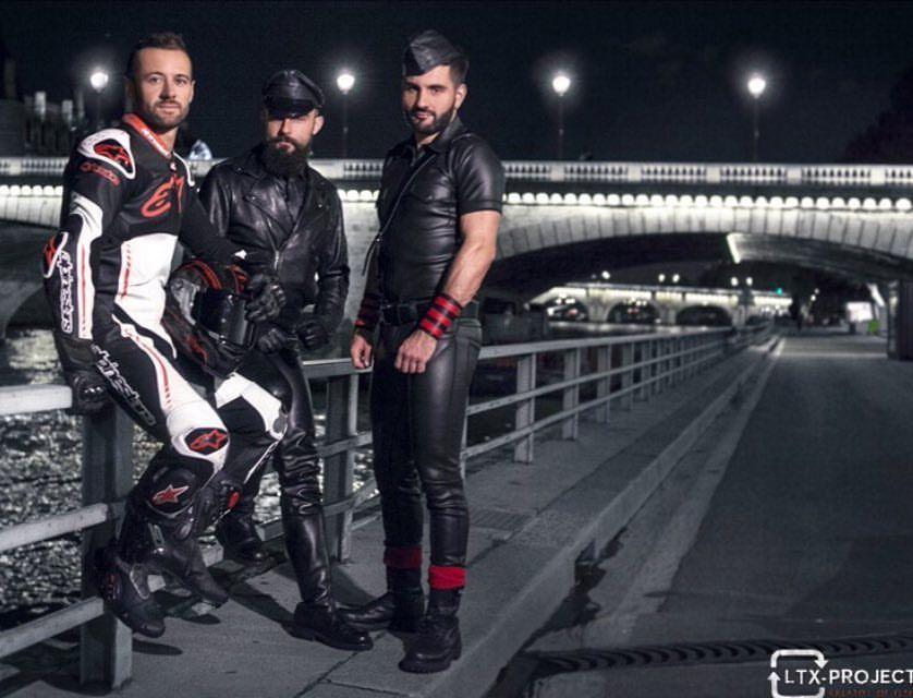Paris Fetish 2017 Advertising Campain By Ltx Project With Jeffriderfr Paris Parisfetish2017 Leather Biker Leatherbiker Leatherpants Bluf