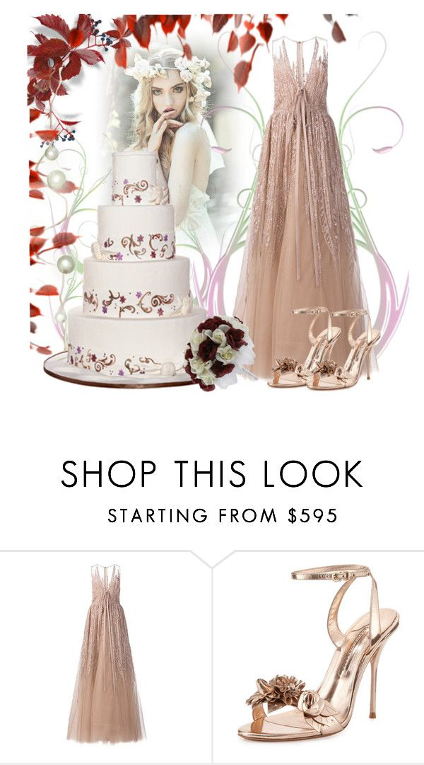 """Yes"" by jojona-1 ❤ liked on Polyvore featuring Elie Saab and Sophia Webster"