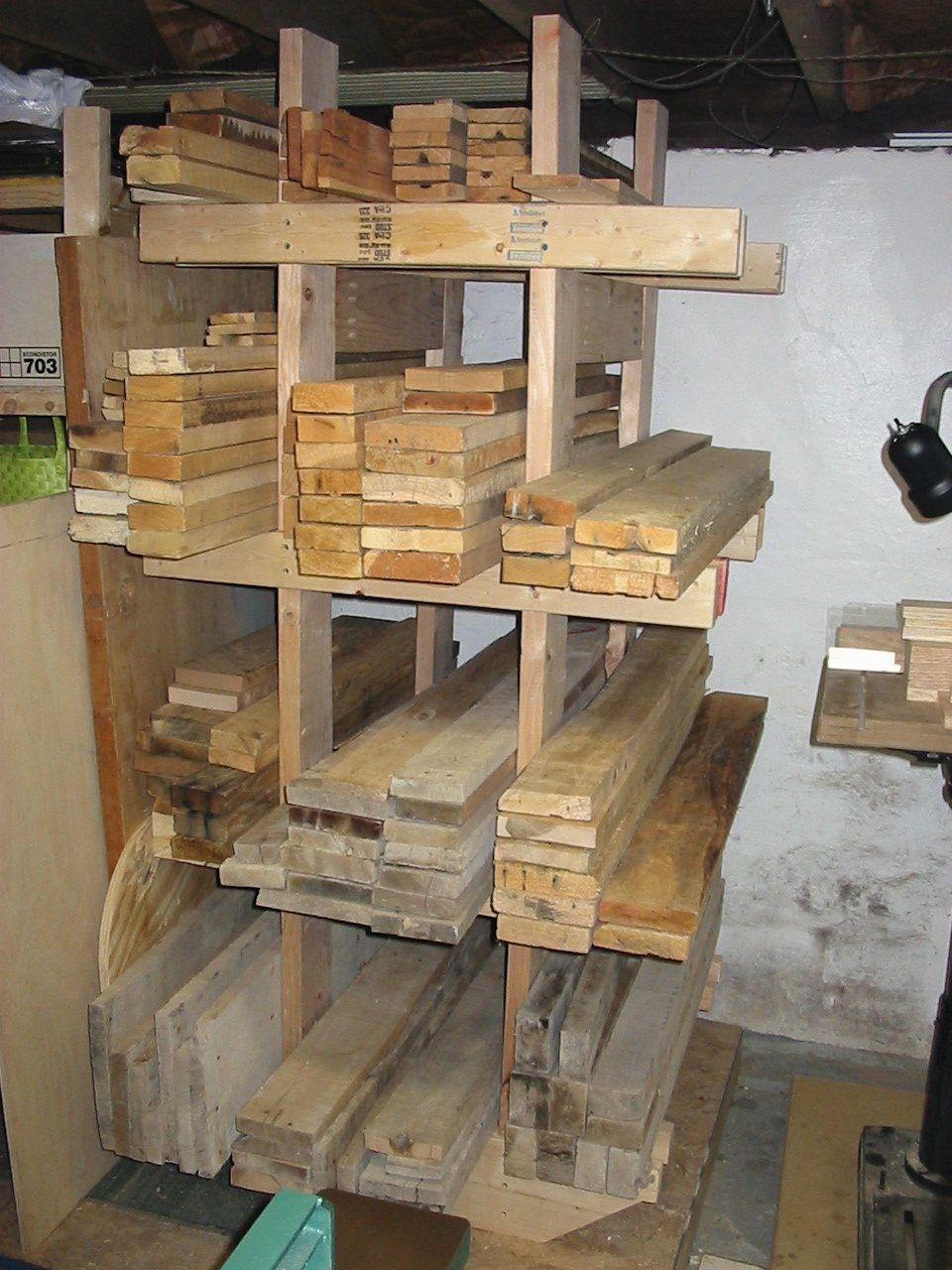 lumber rack | Wood Working | Wood storage rack, Lumber ...