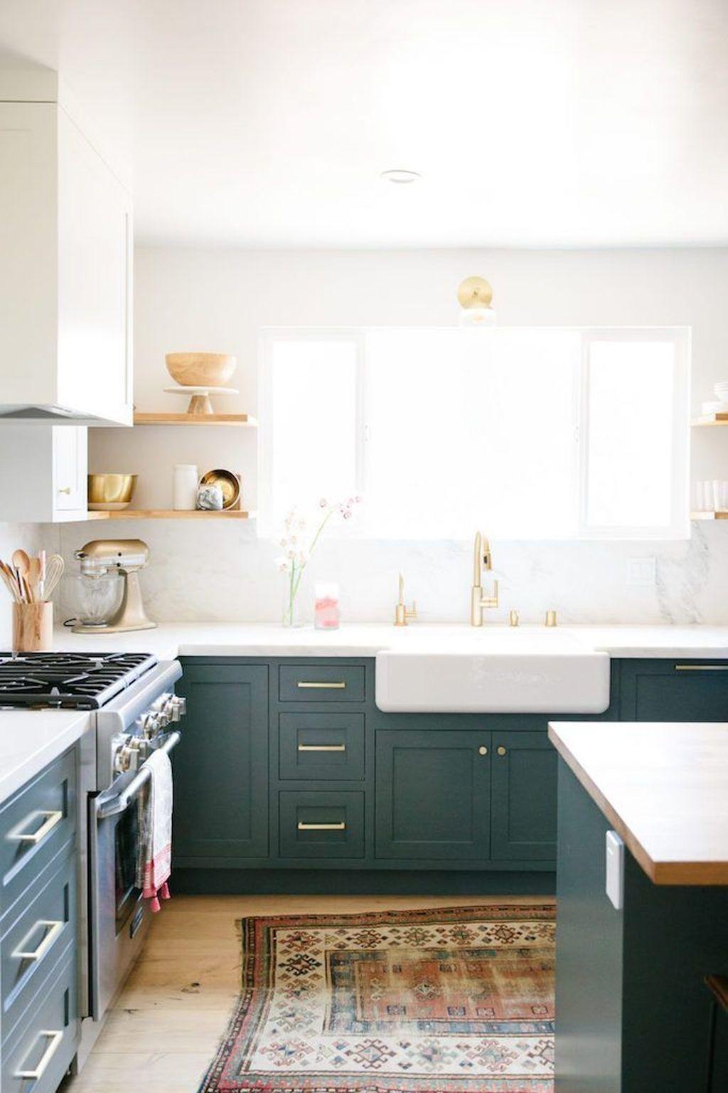 20 Stunning Green Kitchen Design Ideas  Idée déco cuisine