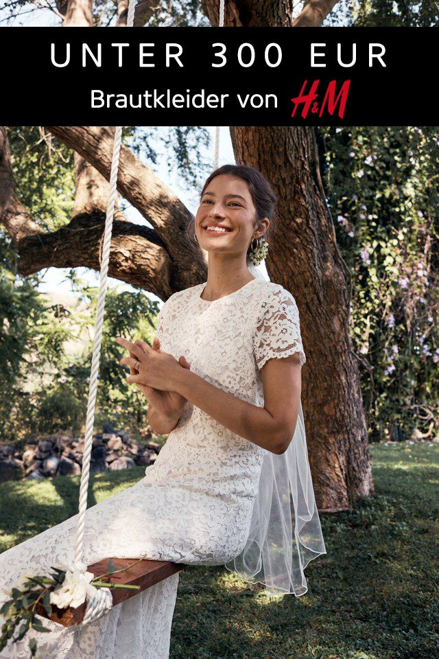 Unter 300€ Brautmode von H&M (mit Bildern) Braut
