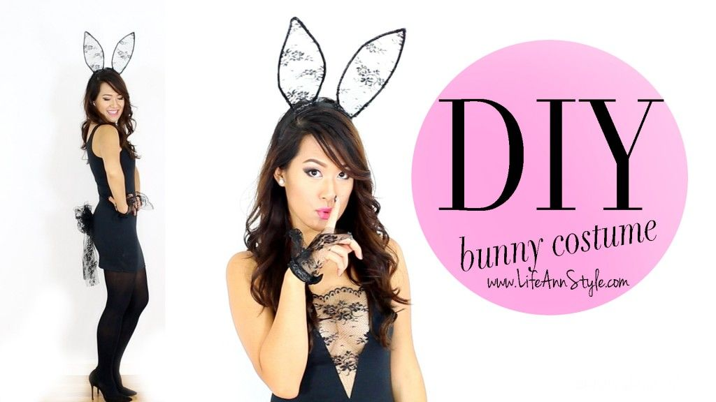 Accept. sexy bunny costume diy rather