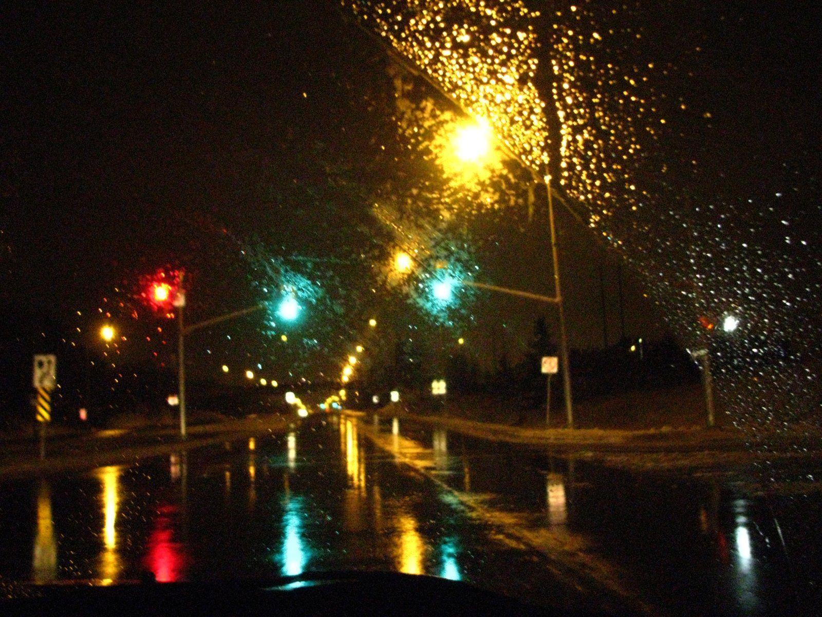 Resultado de imagem para дорога дождь | RAIN | Pinterest | Street ... for Traffic Light On Road At Night  111ane