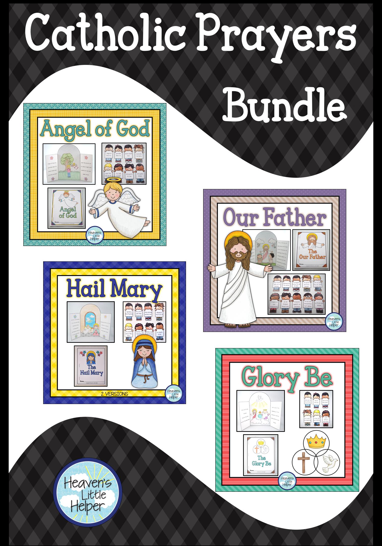 Catholic Prayers Bundle