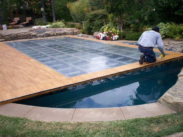 Hard, Platform, Dance Pool Covers by All-Safe | Outdoor Decor in ...