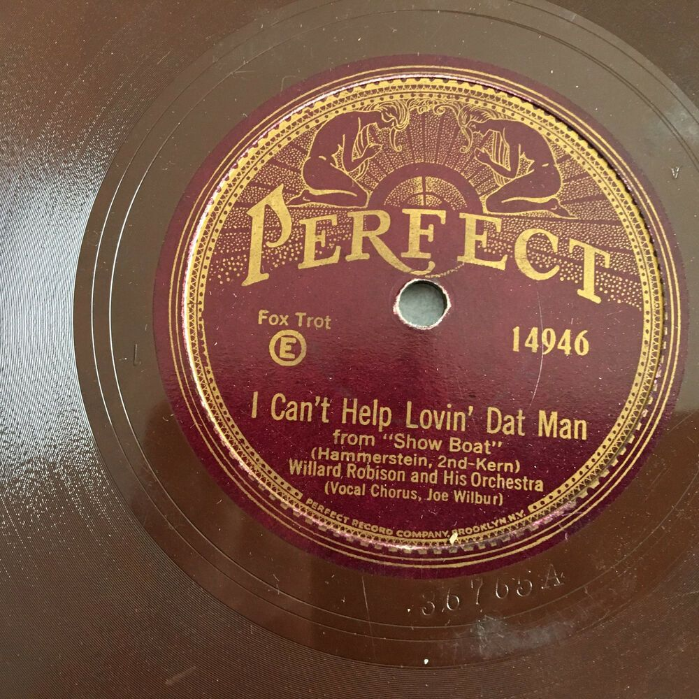 Details About 78 Rpm Record Willlard Robinson Lovin Dat Man Perfect Red Wax Victrola Disc 20s In 2020 78 Rpm Records 78 Records 78 Rpm
