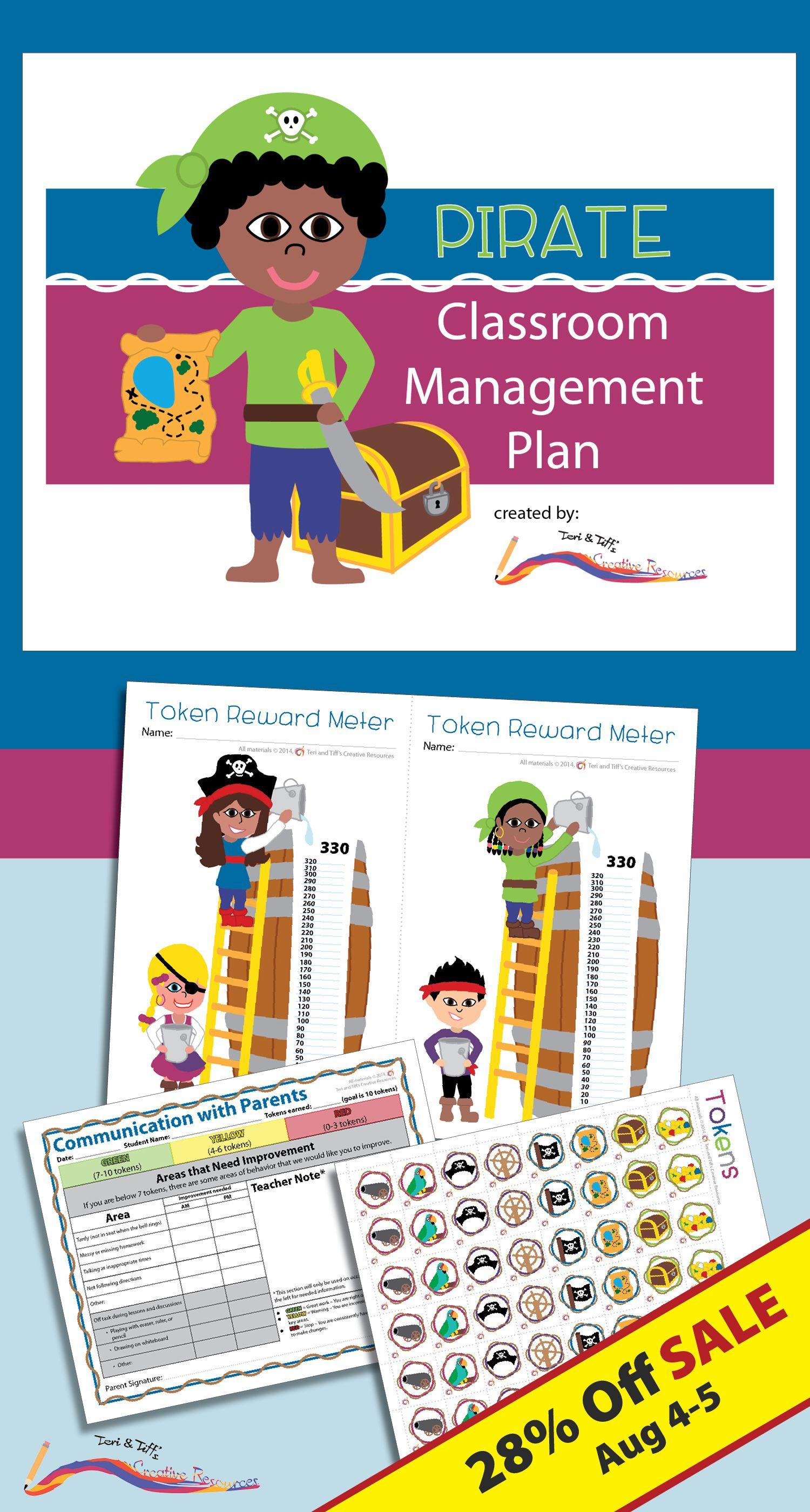 Classroom Management Plan Pirate Style Classroom Management