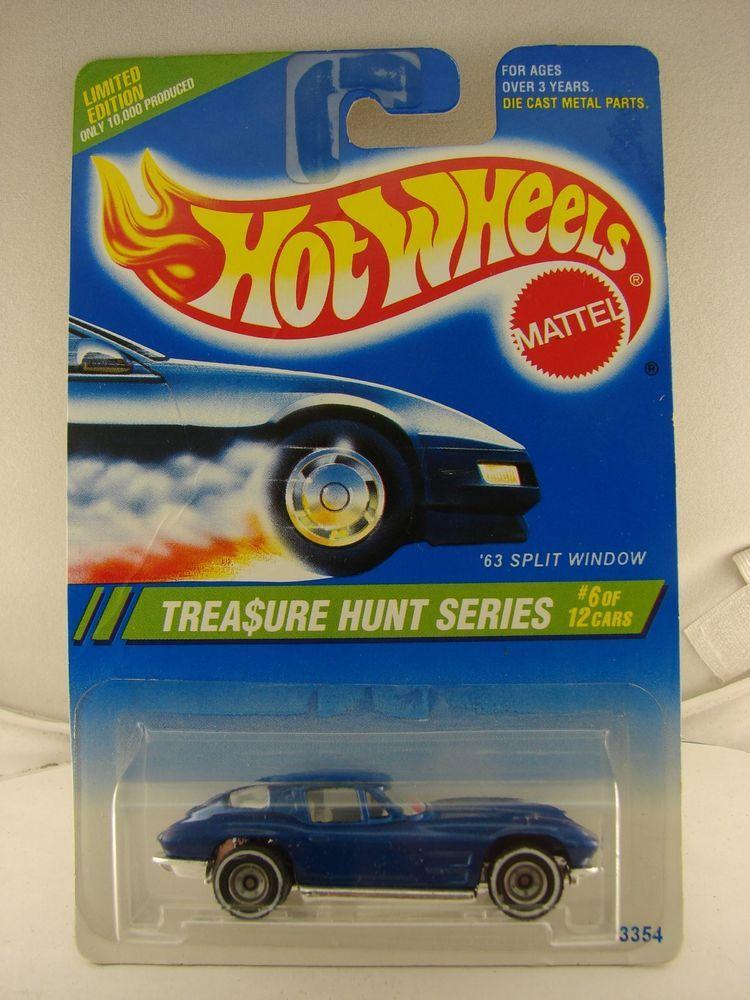 Hot Wheels 1995 Treasure Hunt 6 Of 12 63 Split Window Vette Hot Wheels Toys Hot Wheels Races Hot Wheels