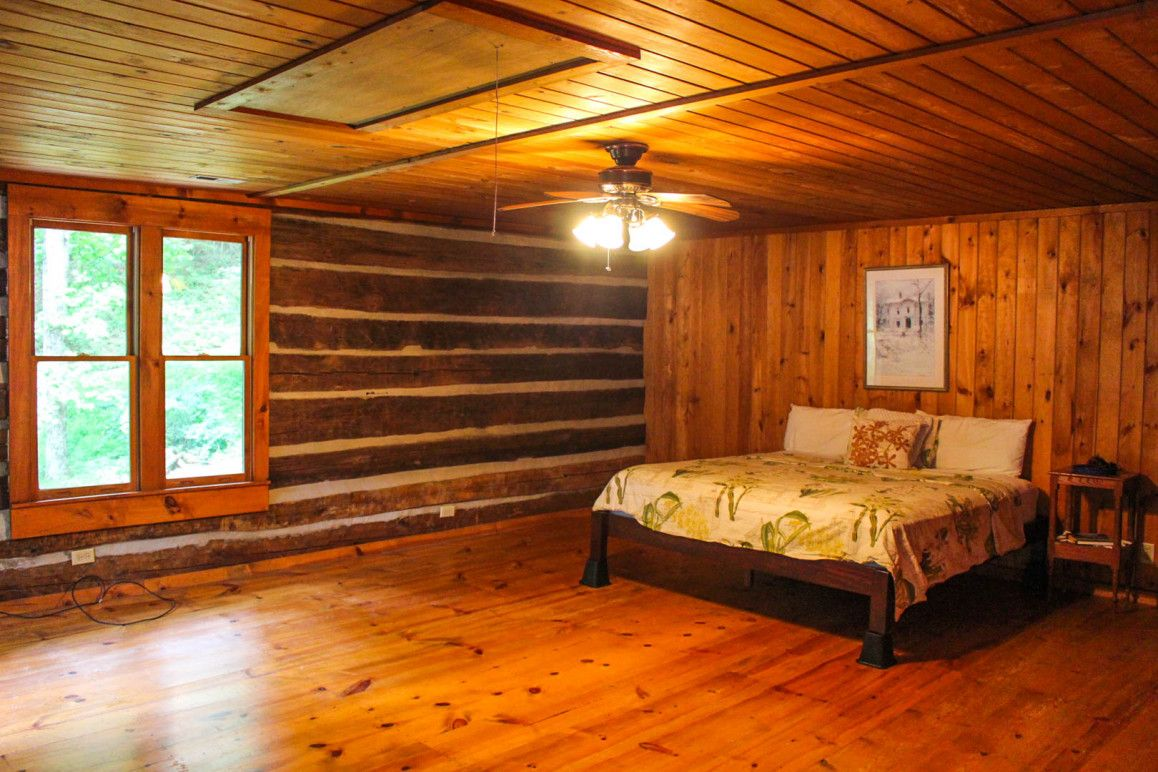 NC Mountain Creekside Log Home   Cabins and cottages, Log ...