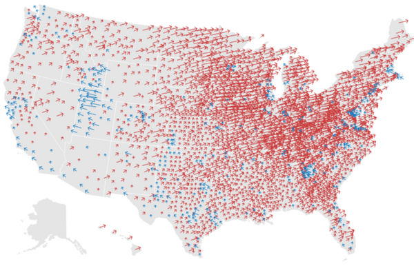 Live presidential election results and maps.   Food For ...
